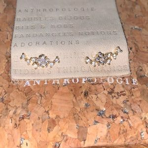 Anthropologie star stud earrings